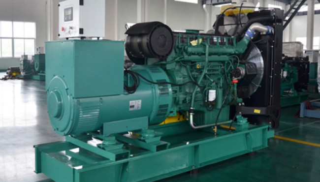 沃尔沃500kw柴油发电机组