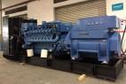 奔驰MTU2400kw柴油发电机组