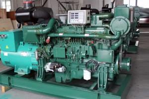 玉柴船用100kw柴油发电机组