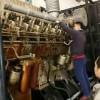 首阳煤业对10KV柴油发电机组进行检修保养