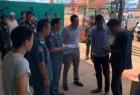 宪兵在西港搜查由中国人经营的2家发电机店,查获66台发电机