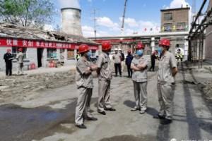 动供总厂召开余压余气节能减排CCPP发电项目拆除施工动员会
