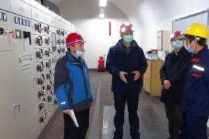 791工程管理处组织发电机组带负荷演练