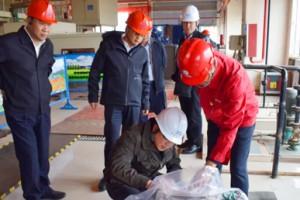 集团公司领导张晓虎赴苏里格发电公司检查调研