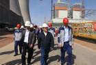 集团公司赵军总经理到吉木萨尔发电检查指导工作