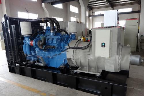 奔驰MTU600kw柴油发电机组