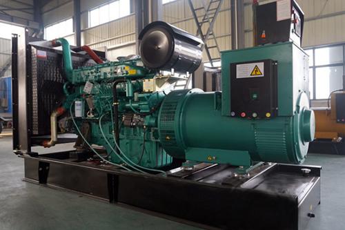 玉柴500kw燃气发电机组