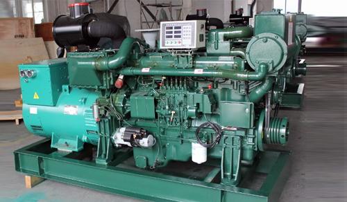 玉柴船用500kw柴油发电机组