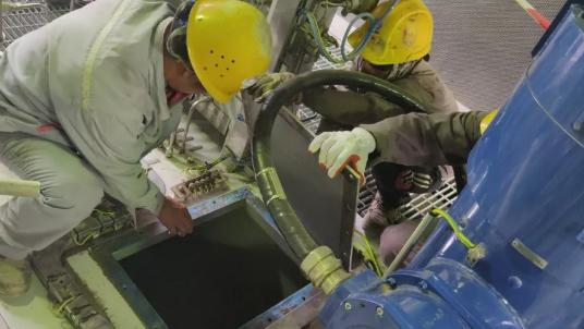 阿尔及尔炼油厂改扩建项目全厂最大GE燃气发电机组顺利交付油运