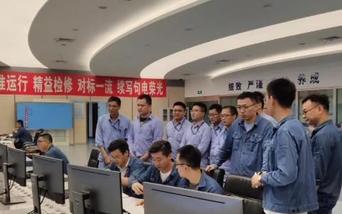 江苏省能投公司组织各电力企业选派部分技术岗位人员赴大型煤电机组进修
