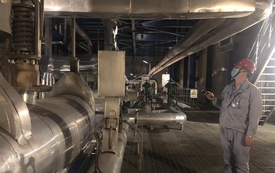 """同华发电#2机组锅炉水压试验一次完成 为实现首季""""开门红""""交出亮丽答卷"""