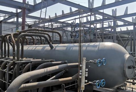 石家庄生物质发电项目2#锅炉水压试压圆满成功