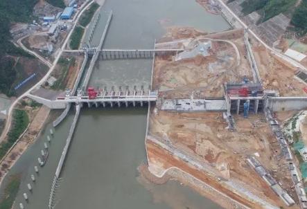 韩江高陂水利枢纽工程预计明年实现发电!