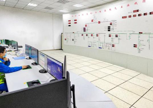 汉江白河(夹河)水电站首台机组并网发电