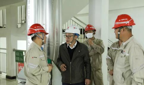 肖学好到北一发电公司调研安全生产和高质量发展工作