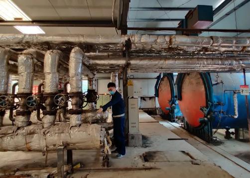 合川发电公司首个供热项目实现稳步增产