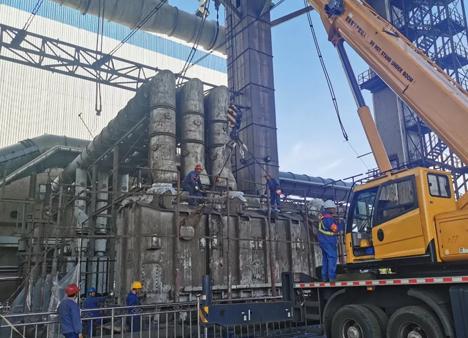 四川电力公司中标昆钢余热发电总承包项目