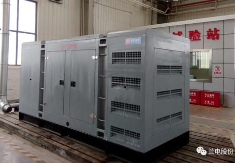 兰电公司柴油发电机组产品交付客户
