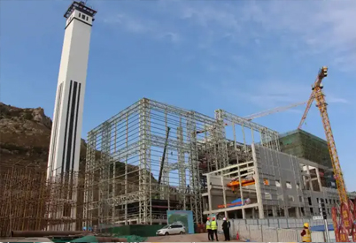 东平环保能源发电项目正按计划快速有序推进