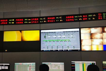 热电厂发电车间对集控乙班进行合格班组验收