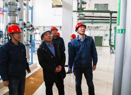 监察专员赵社全来张掖发电公司调研指导工作